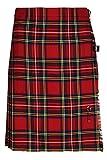 Oxfords Cashmere 100% Wolle Kurzer Kilt für Damen, Royal...