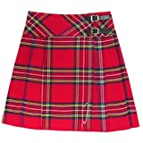 Tartanista Damen 51 cm Lange Kilt-Rock mit Kiltnadel Royal...