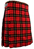 Schottischer Kilt, klassischer Rock Kleid Highland - Wallace, W40