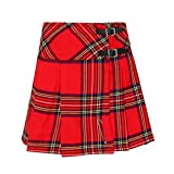 Tartanista Damen Mini-Kilt-Rock 42 cm (16,5') Länge Royal...