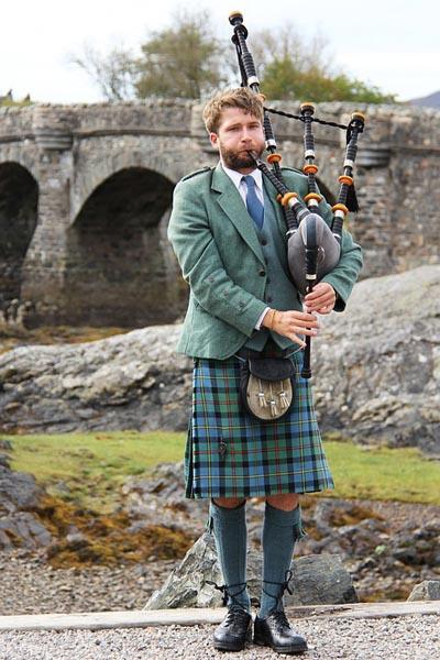Kilt Schottenrock Herren